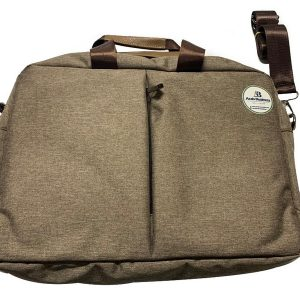 Laptop bag business color peanut