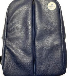 Leather Backpack bag color Blue