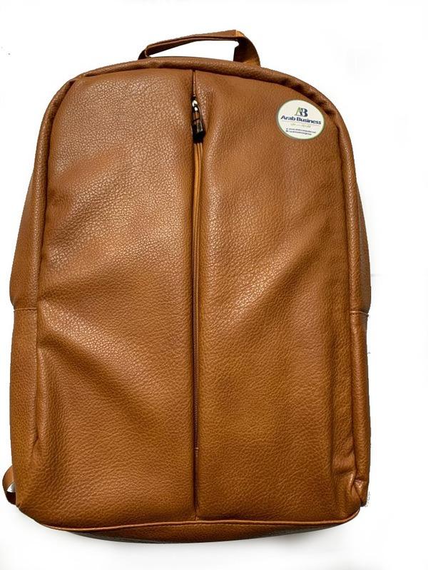 Leather Backpack bag color Havan