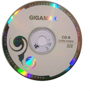 CD Blank 10  Gigamax
