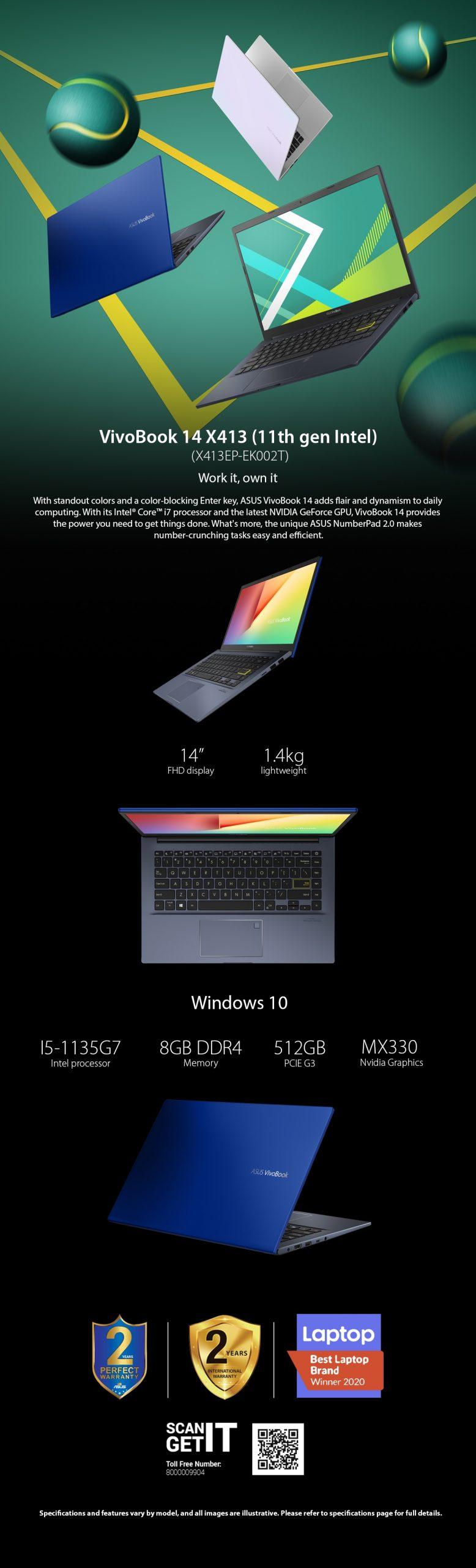 VivoBook X413EP-EK002T