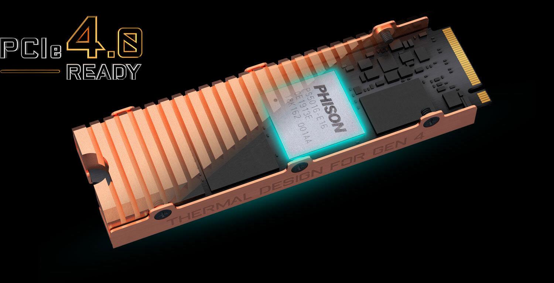 AORUS NVMe Gen4 SSD 500GB