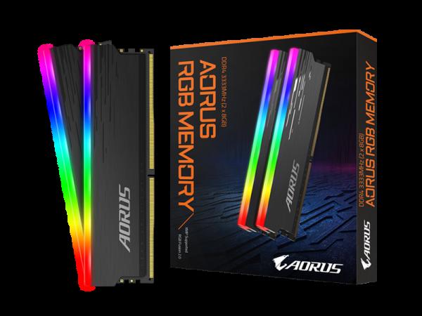 RAM GIGABYTE RGB Memory DDR4 16GB